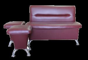 Прямой диван для кухни Лира 7